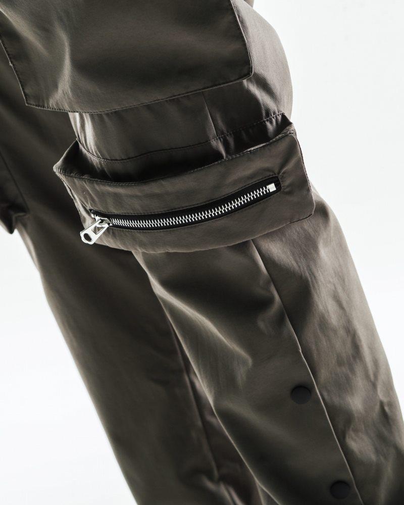 《2色》ビッグポケットサイドスナップカーゴジョガーパンツの画像8